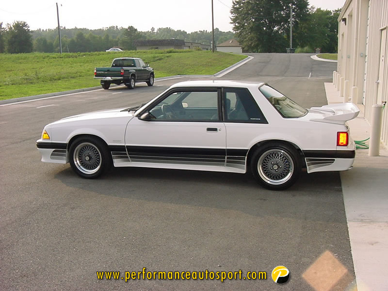 Foxbody Saleen Stripes  Ford Mustang Forums  Corralnet Mustang